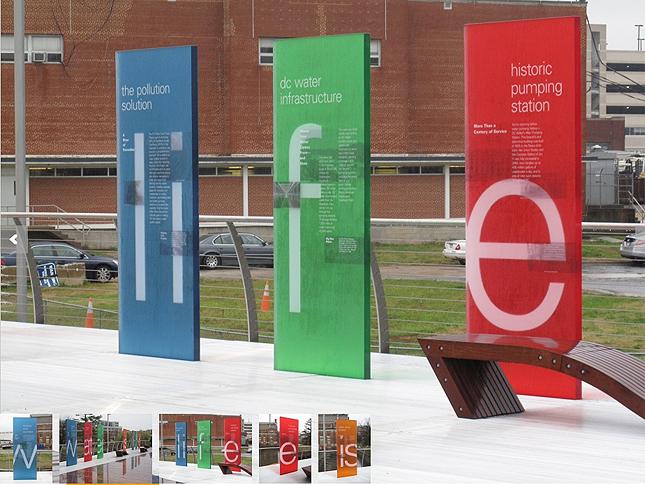 3form design awards exterior signage interior signage for Exterior signage design