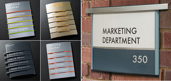 Image Gallery Interior Signage Systems