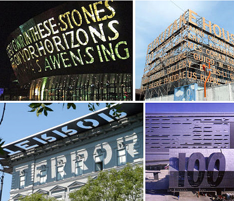 Signage Quick Hit Architectural Signage Transforms How