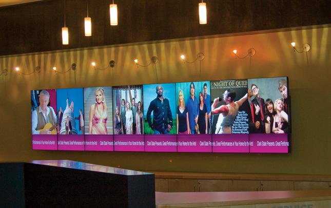 digital signage video wall